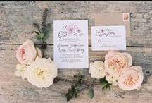 Wedding Invitations + Save-the-Dates