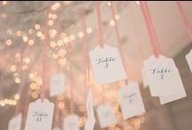 Wedding Seating/Escort Cards
