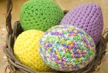 Easter DIY Ideas / Mix up the traditional egg dying with other Easter crafts! Make your own eggs, or dress your little one in seasonal costumes. / by Red Heart Yarns