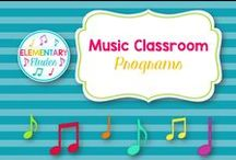 Music Classroom - Program Ideas