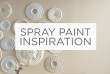 Spray Paint Inspiration / Add a splash of color to almost any surface with Valspar Spray Paint.  / by Valspar