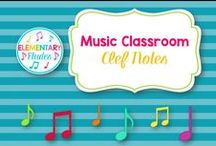 Music Classroom - Clef Notes