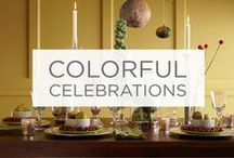 Colorful Celebrations / Bring life to any gathering with fun, creative pops of color. / by Valspar