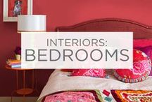 Interiors: Bedrooms / Whether it's light and energetic or dark and dramatic, color can make a big difference in a bedroom. Get inspired for your next project.  / by Valspar