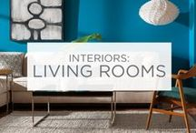 Interiors: Living Rooms / When it comes to the room your family spends the most time in, color makes a difference.  / by Valspar