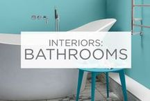 Interiors: Bathrooms / Ready to give your bathroom a fresh, new look? Find all the inspiration you need right here. / by Valspar