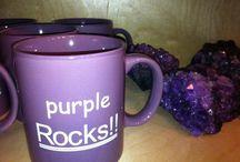 Liloja asioita / Kaikenlaista kivaa lilana. Purple things. Lila, violet
