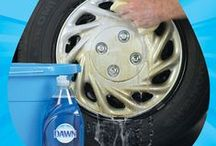 In the Garage / The greasy wheel gets the Dawn – easy ways to keep you wheels looking new. / by Dawn