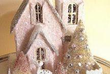 Glitter Houses / by Amanda Keane Ayres