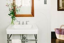 INTERIOR / bathroom / Interior design, styling and home decor for bathrooms.