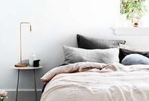 INTERIOR / bedroom / Interior design, styling and home decor for bedrooms.