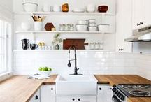 INTERIOR / kitchen / Interior design, styling and decor for kitchens.