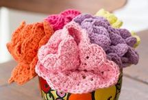 Cotton Yarn Projects / Free crochet and knit projects to do in cotton yarn -- perfect for Creme de la Creme! http://www.redheart.com/crochet-thread/creme-de-la-creme / by Red Heart Yarns