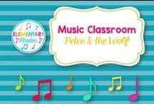 Music Classroom - Peter & the Wolf