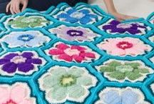 Fabulous Flowers / We have fabulous flower patterns for you to crochet and knit! Flowers can be incorporated into afghans or pillows, or make ones on their own to add to projects as decorations.