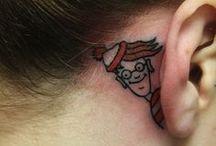 Tattoos <3 / by Elizabeth Wright