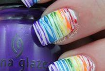 Nails & Nail Art Idea's & Tips / #Nails, #Cutewaystousenailpolish.