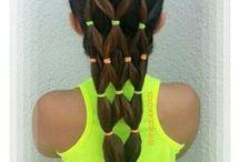 Hair / #Hair, #Hair do's, #Kids Hair styles, #Braids, #Bobbie pins, #Hair Bows, #Headbands, #French Braids, #Bows, #Hair Styles, #Colored Hair