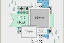 Scrapbook Sketches / #Scrapbook sketches, #Starting Points, #Scrapbook layouts, #Crafts, #Paper, #Layouts, #Page layouts, #Pre-made pages, #Starting, #Pre made pages, #Scrapbook starting points, #Scrapbook, #Layout