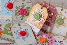 Scrapbook Tags / #Scrapbook tags, #DIY Tags, #Crafts, #Scrapbook, #Tags, #Paper Tags, #Paper, #Paper Crafts, #Scrapbook Paper, #Gift Tags, #Gift Tag, #Tag, #Homemade tags, #Decorated tags