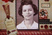 Vintage & Heritage Layouts, & Crafts / #Vintage, #Vintage photos, #Vintage Scrapbooking, #Vintage layouts, #Black and White photos, #Black and White Scrapbook pages, #Old Photos, #Antique Photos, #Antique layouts, #Sepia Photos, #Sepia Layouts, #Sepia Scrapbook