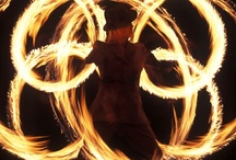 Fire Dancing & Hooping / I'm going to learn how to do this. / by Debi D❤️