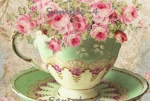 """I love beautiful dishes and """"tablescapes"""" / by Cindy Hoitink"""