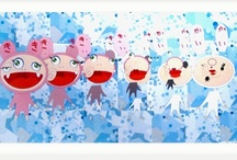 Takashi Murakami / Fantastic artworks by the Japanese artist Takashi Murakami available on artsation.com! https://artsation.com/en/artists/takashi-murakami