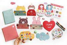 Cute Stationery / Lovely stationery from Korea.