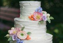 Let them eat CAKE! / Wedding cakes  / by Rebecca Keenan