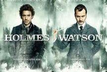 Sherlock Holmes & Watson / #Sherlock, #Sherlock Holmes, #RobertDowneyJr. ,#Watson, #JudeLaw, , #BenedictCumberbatch, #RachelMcAdams