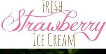 Ice Cream & Frozen Treats / Ice cream recipes, milkshakes, and other ice cream treats.