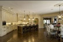 Luxe Looks / Custom homes by Tim Burks Builder.