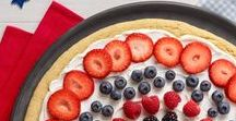 Red, White & Blue / 4th of July, Memorial Day, Veteran's Day, Patriotic Celebrations & Inspiration
