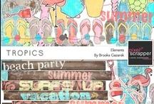 Pixel Scrapper Kits / ✿✿ Find all these digital scrapbooking kits at www.pixelscrapper.com ✿✿