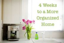 orgAniZe / Need to get organized?  These ideas will sure help!