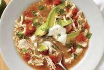 soups/crock pot meals / crock pot ideas for easy dinners
