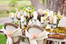 ~ Garden Party ~ / A luncheon, dinner, brunch or any occasion, a garden party is a lovely setting for a gathering of friends in the warm weather...