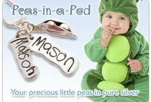 Peapod Personalised Jewellery / Pure silver keepsake jewellery
