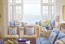 ~ Coastal Living ~ / Enjoy an endless summer with dreamy views inspired by the ocean! / by Pat Cole