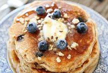 Pancakes / Pass the pancakes please! Love these pancake recipes!  / by Maria (Two Peas and Their Pod)