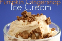Ice cream maker recipes / by Leigh Blauvelt