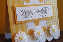 Craft Ideas:  Birthday Cards  / by Maxine Dyer