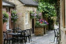 ~ Penny Lane ~ / Reminiscent of our travels, a collection of quaint villages in the English countryside, come along and enjoy the fresh country air, scenic roads and country gardens. / by Pat Cole
