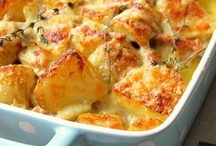 Potatoes / because I ADORE potatoes in every shape, form and dish.