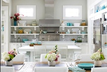 Dreams of a future Home: kitchen / because of all the places I've visited and all the ones to come...home will always be my favorite. Always on the look out for kitchen inspiration
