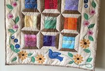 Quilting / Quilting examples to inspire me and any techniques or videos to educate.  / by Peggy Watson