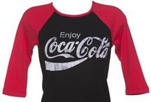Coca-Cola at TruffleShuffle.com / An awesome range of Coca-Cola T-Shirts, Hoodies, Vests, Outerwear, Jumpers, Accessories, Gifts, Homewares and Games in stock for next day UK delivery. xoxo