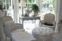 ~ Maison Blanc ~ / Various shades of white interiors and accessories  / by Pat Cole