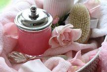 ~ Pour Le Bain ~ / Pretty bath essentials for the lady... / by Pat Cole
